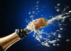 champange bottle