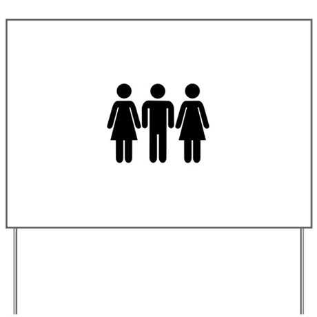 threesome_yard_sign